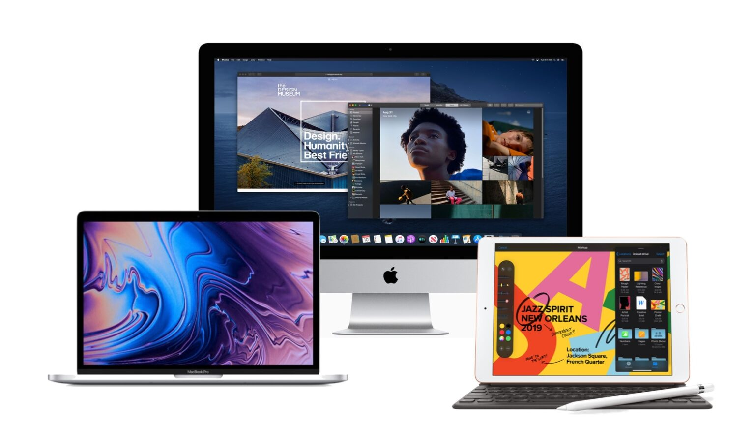 MacBook, iMac and iPad are all computers