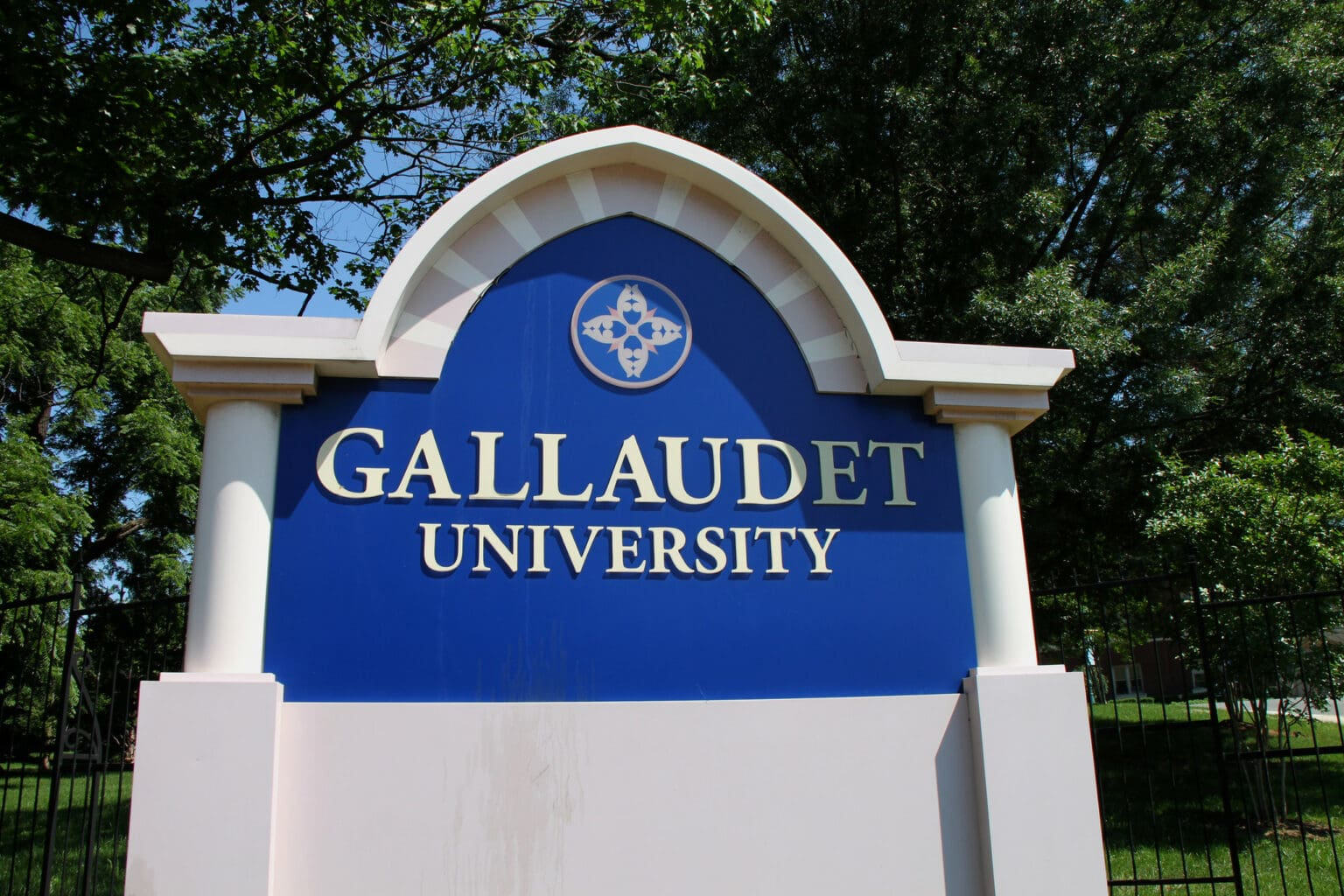 Gallaudet University Sign