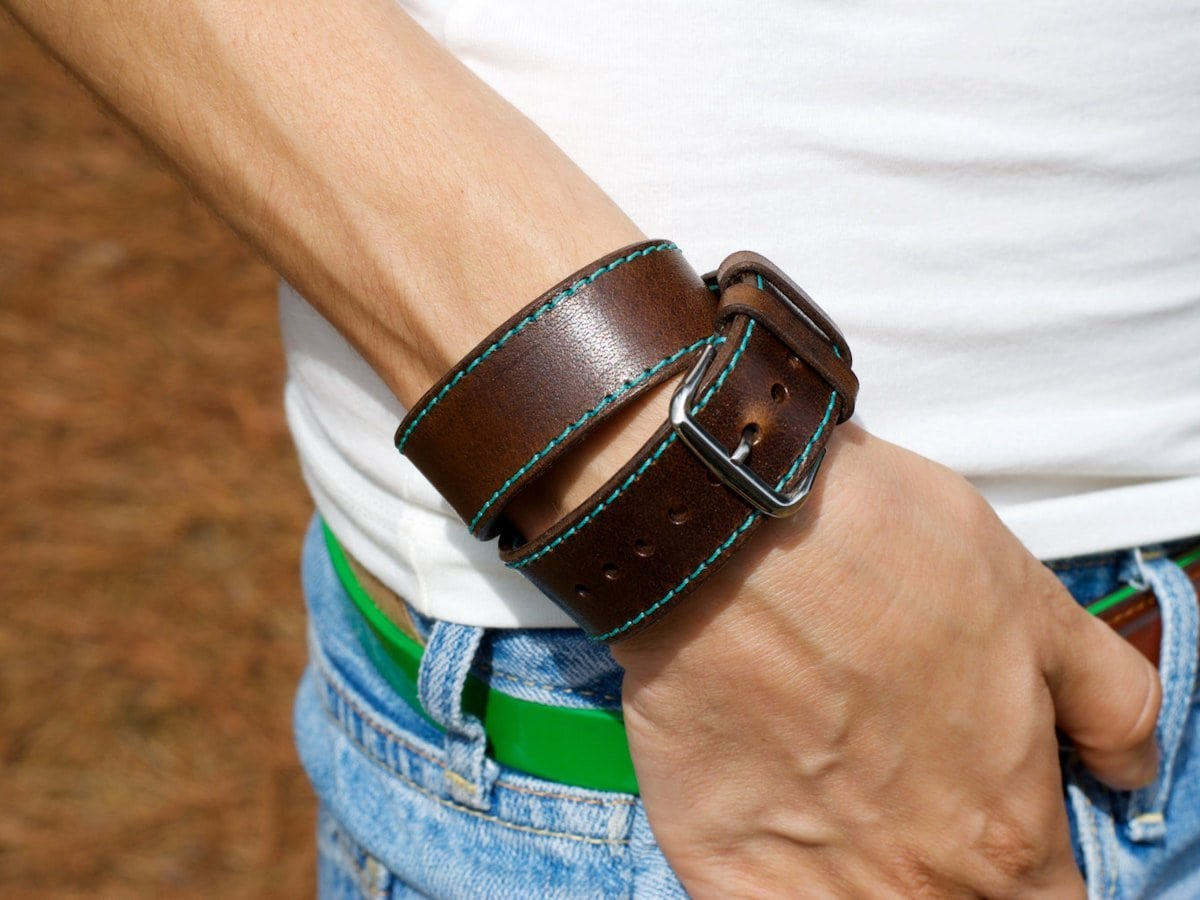 Olrp leather Apple Watch bands