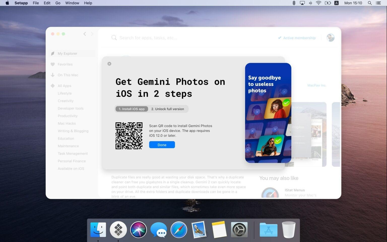 Setapp comes to iOS