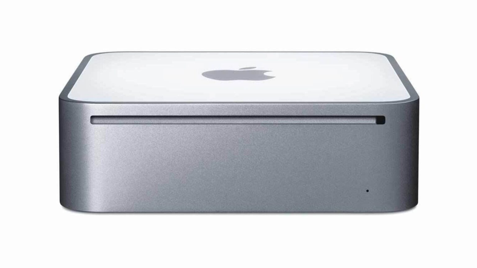 The 2005 Mac mini is fine without an iPod port.