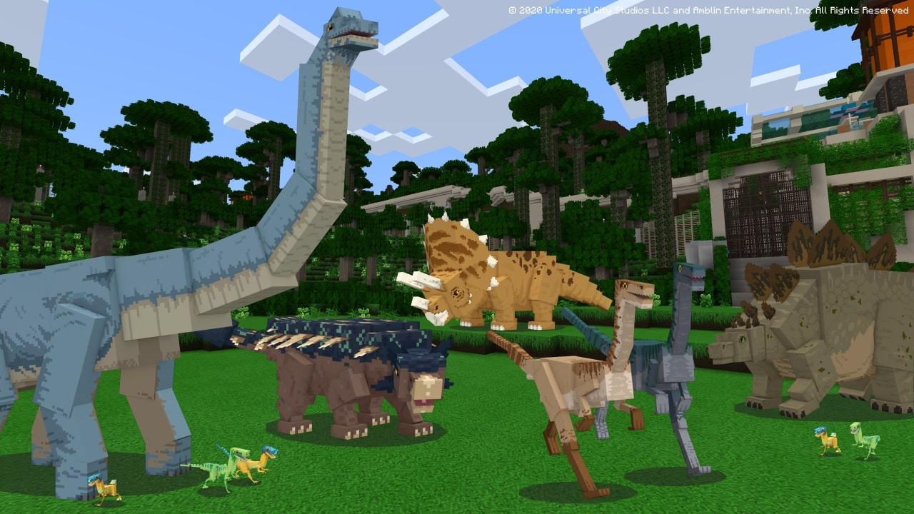 Jurassic Park DLC Minecraft