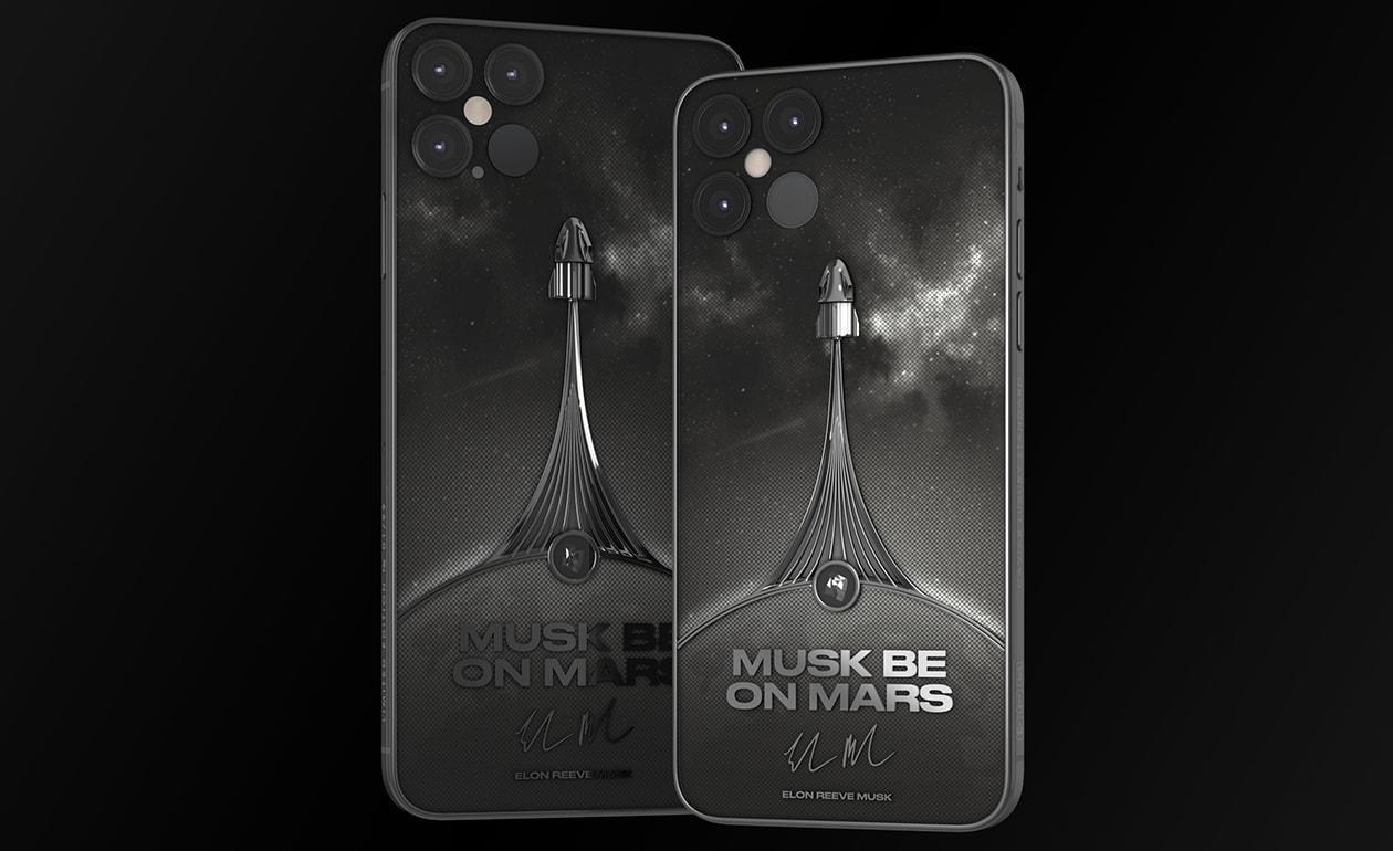 Musk on Mars phone