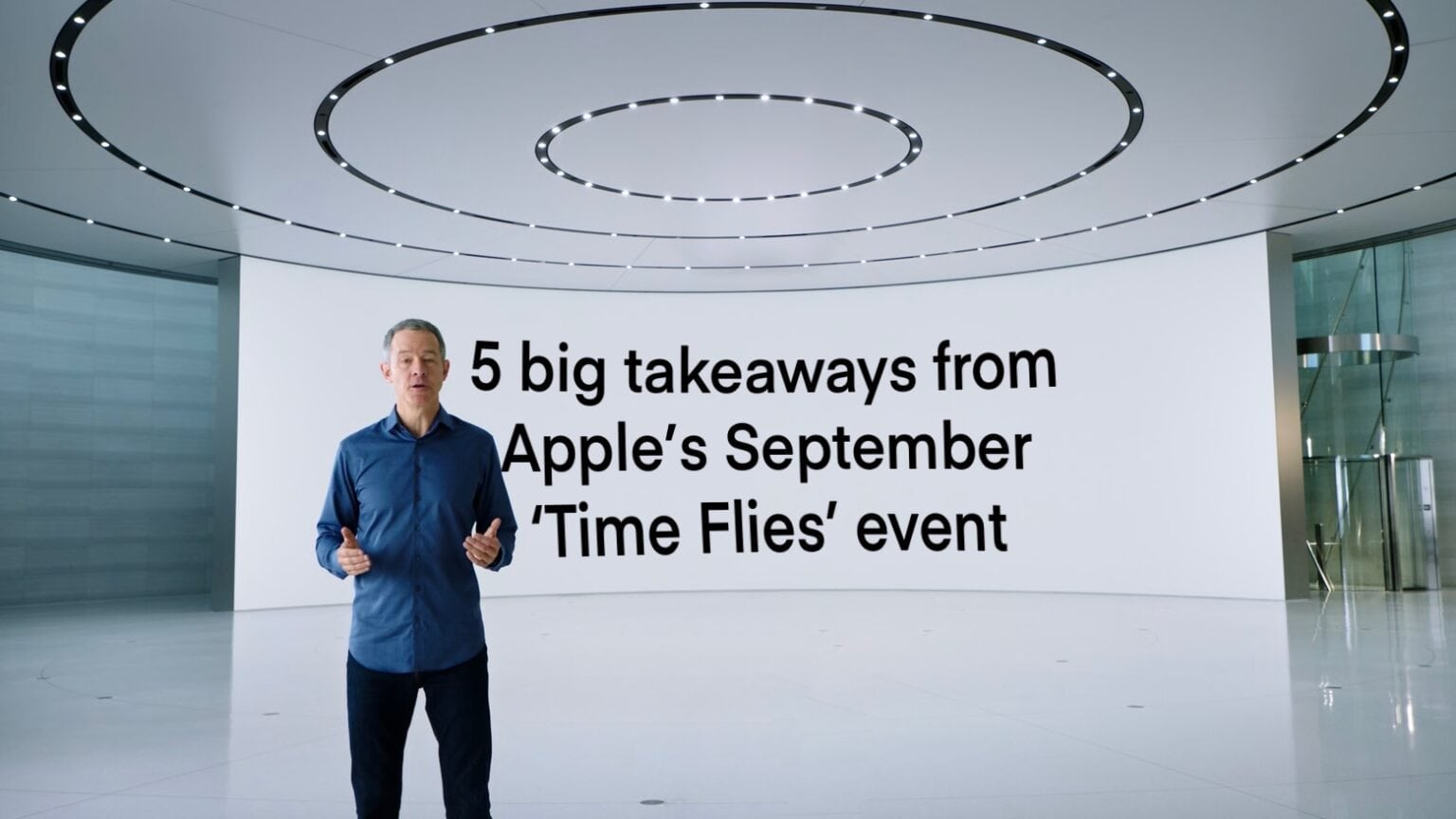 The Apple September event had everything you could want