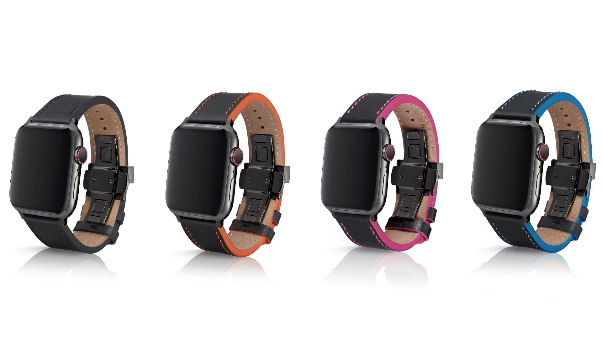 Juuk leather bands for Apple Watch