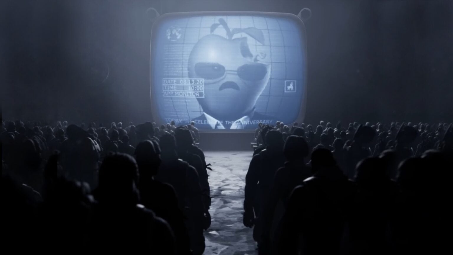 Epic Games mocked Apple with a '1984' parody.