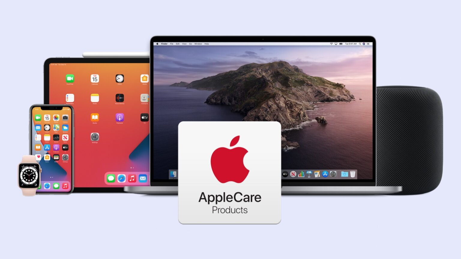 AppleCare provides extended insurance for so many Apple products.
