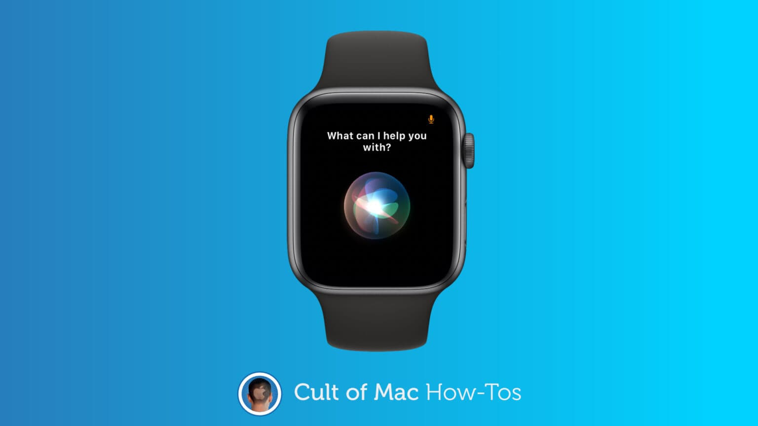 Customize Siri on Apple Watch