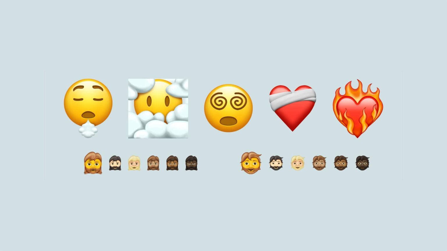 The list of new 2021 emoji is short.