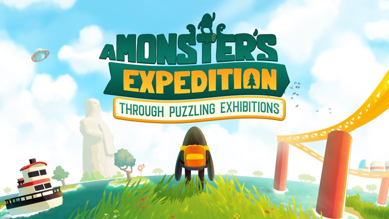 Go on A Monster's Expedition through open-world puzzles on Apple Arcade