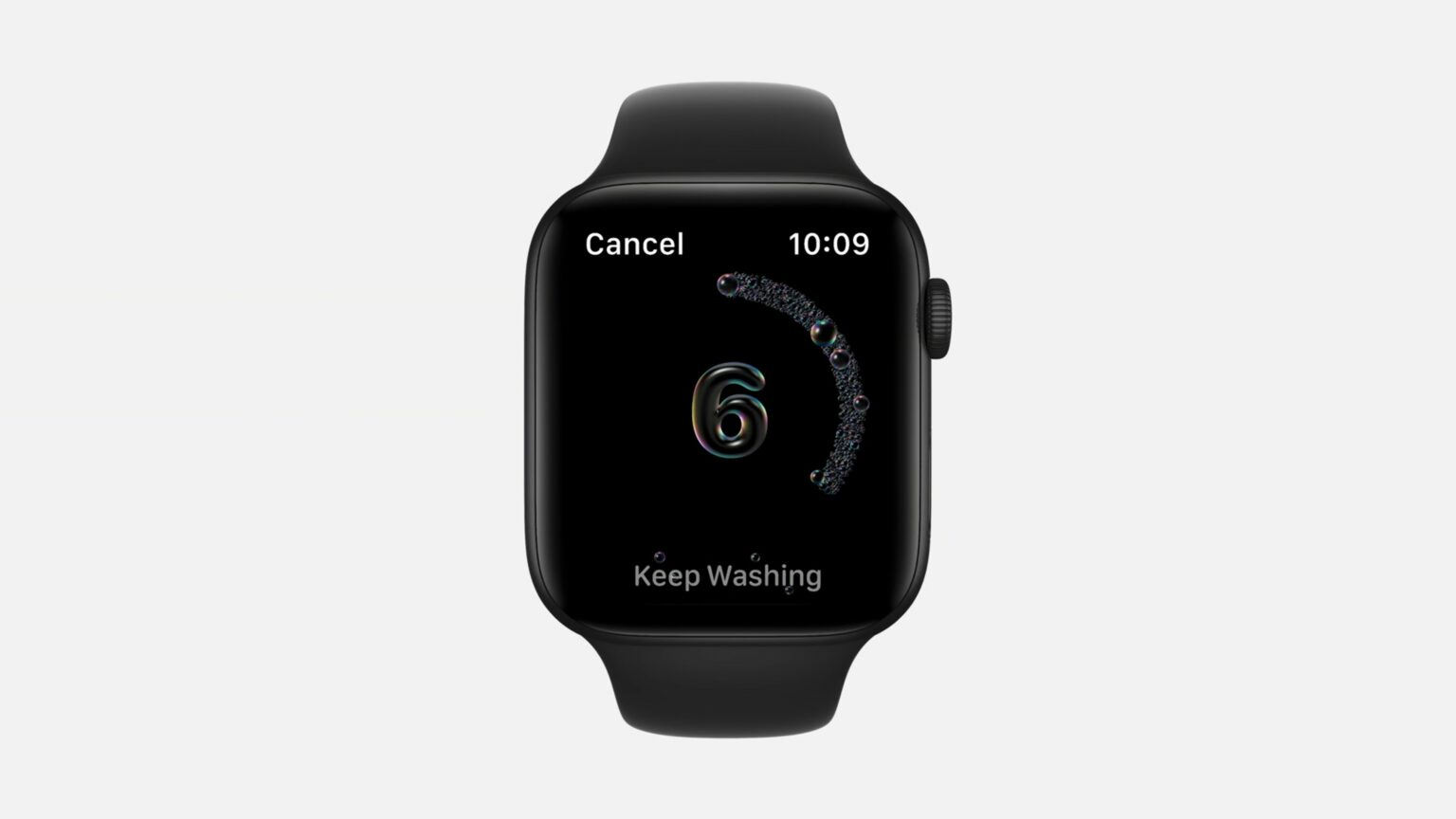With watchOS 7, you're just a couple quick toggles away from maximum handwashing effectiveness.