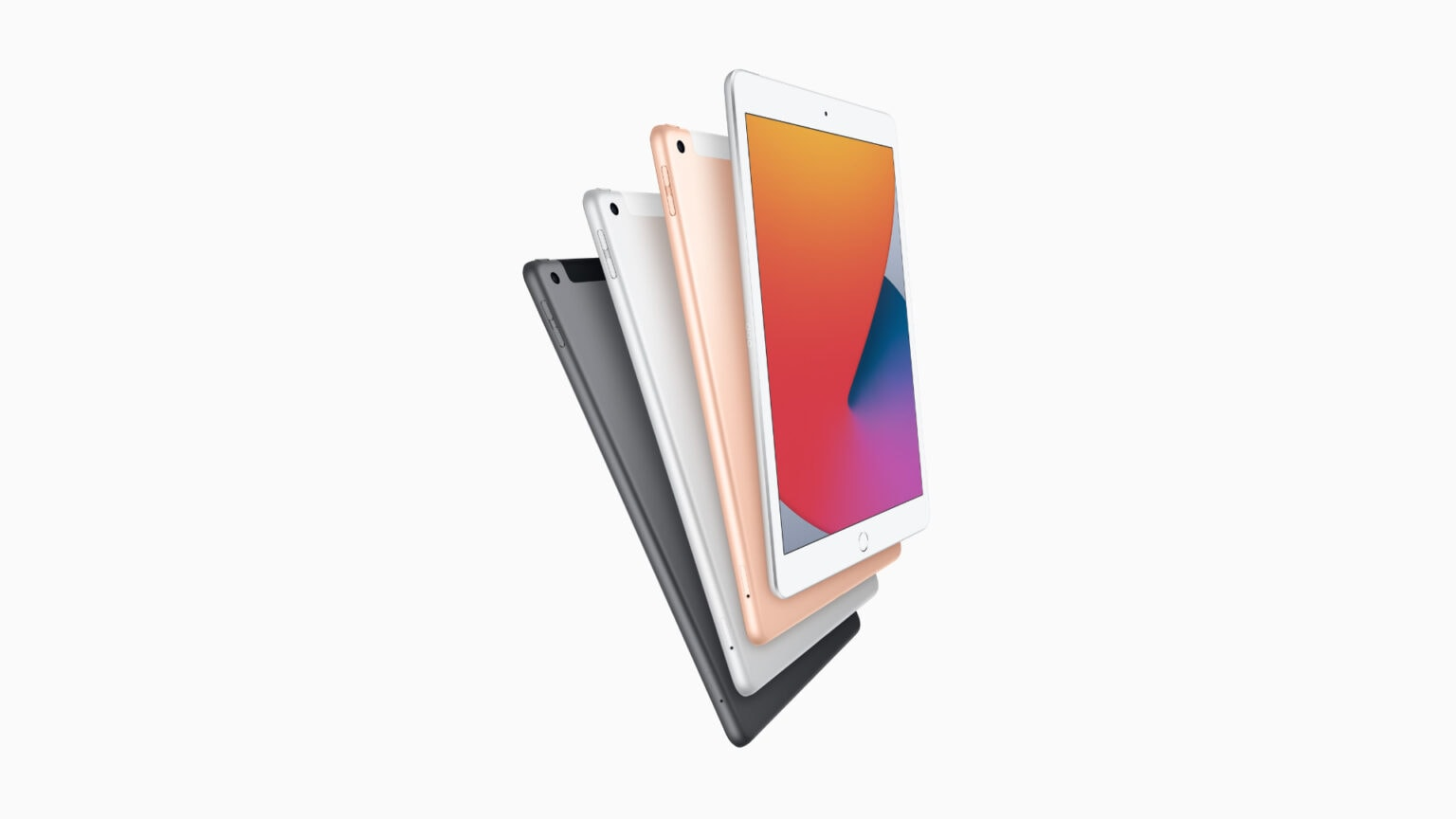 New 2020 iPad colors