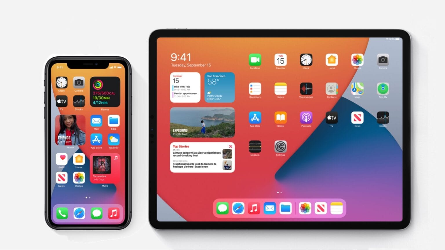 The wait is almost over for iOS 14 and iPadOS 14.