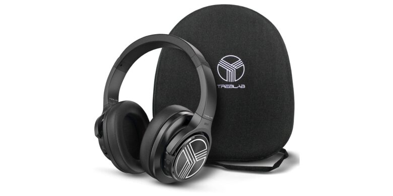 TREBLAB Z2 Bluetooth 5.0 Noise-Cancelling Headphones: These sleek Bluetooth headphones last a full 35 hours on a single charge