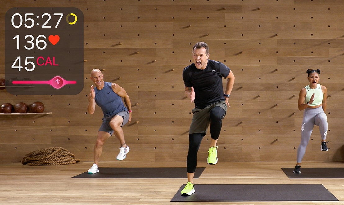 With Apple Fitness+ you can workout in front of your TV Jane Fonda-style
