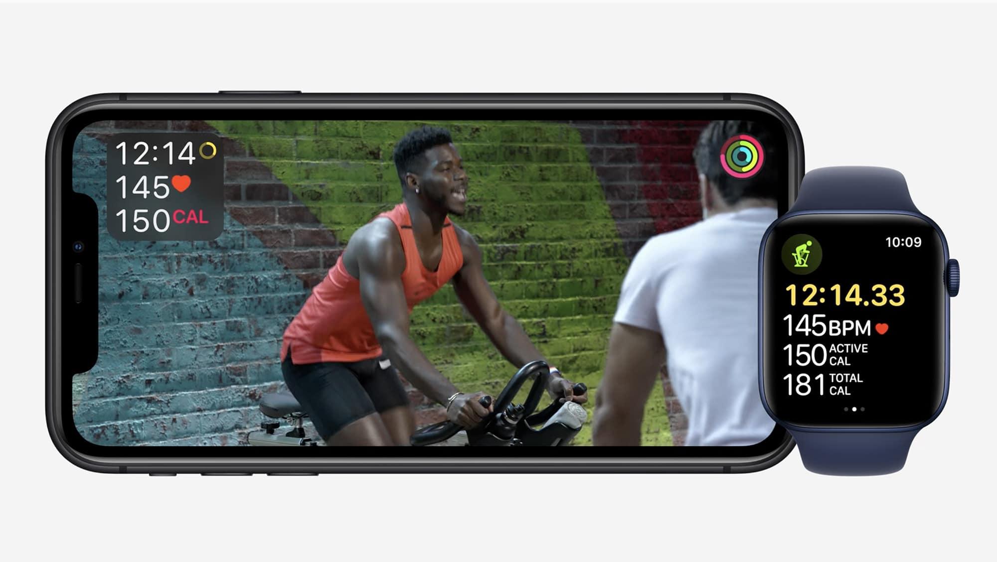 Apple Fitness+ boasts unbeatable Apple Watch integration