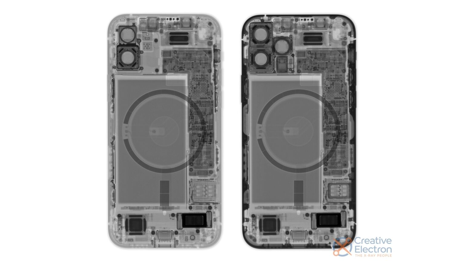 An iPhone 12 teardown wouldn't be complete without a cool X-ray.
