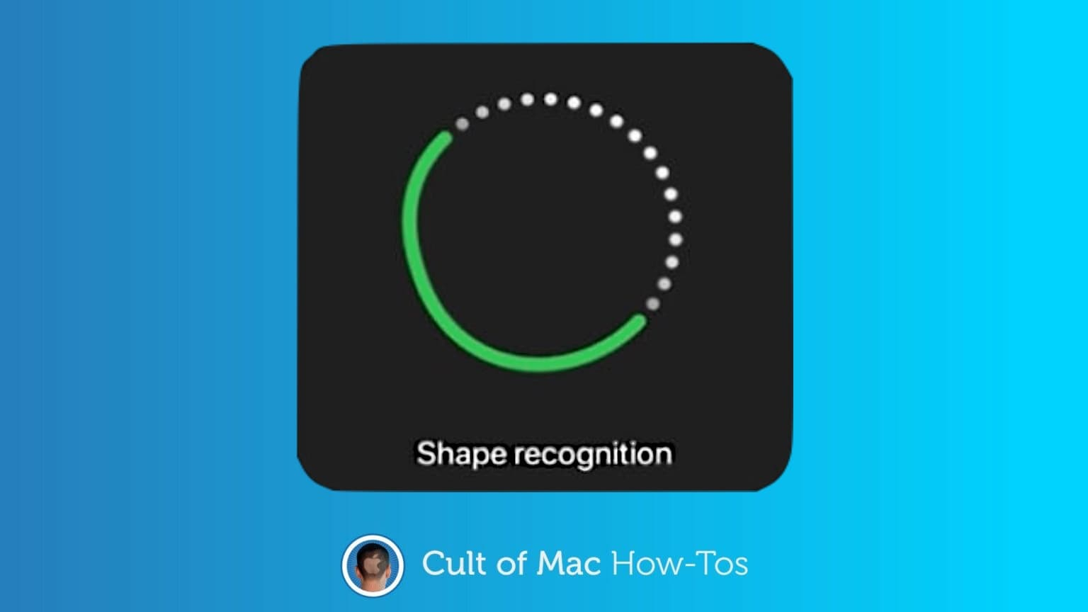 How to draw with shape recognition in iPadOS 14