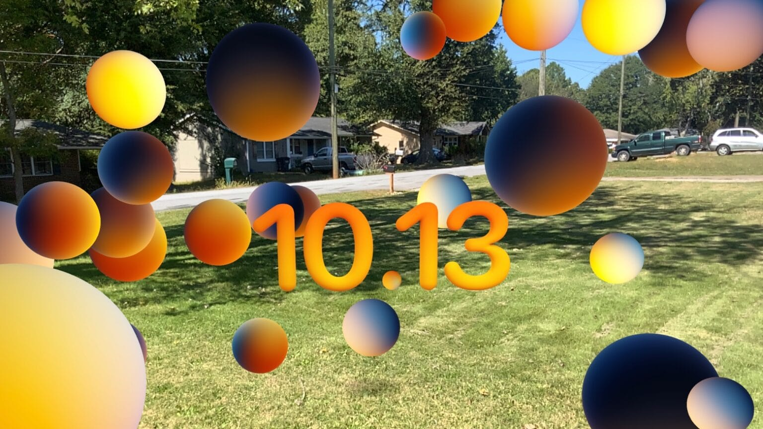 The invite to the Apple October event 2020 offers an augmented-reality easter egg.