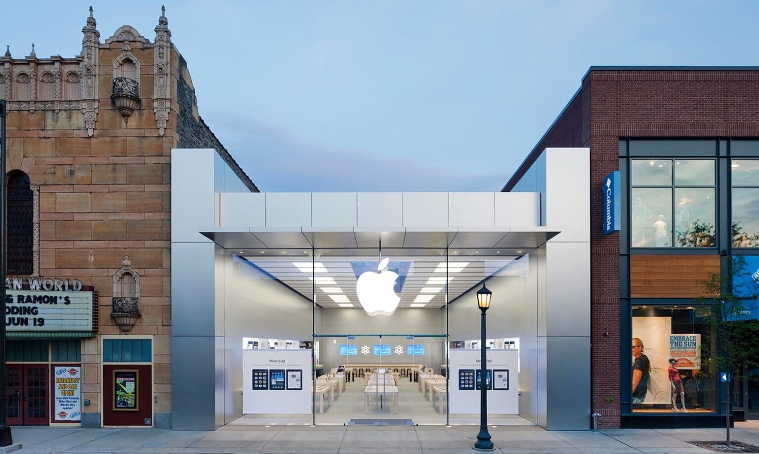 Say goodbye to the Uptown Apple Store in Minneapolis.
