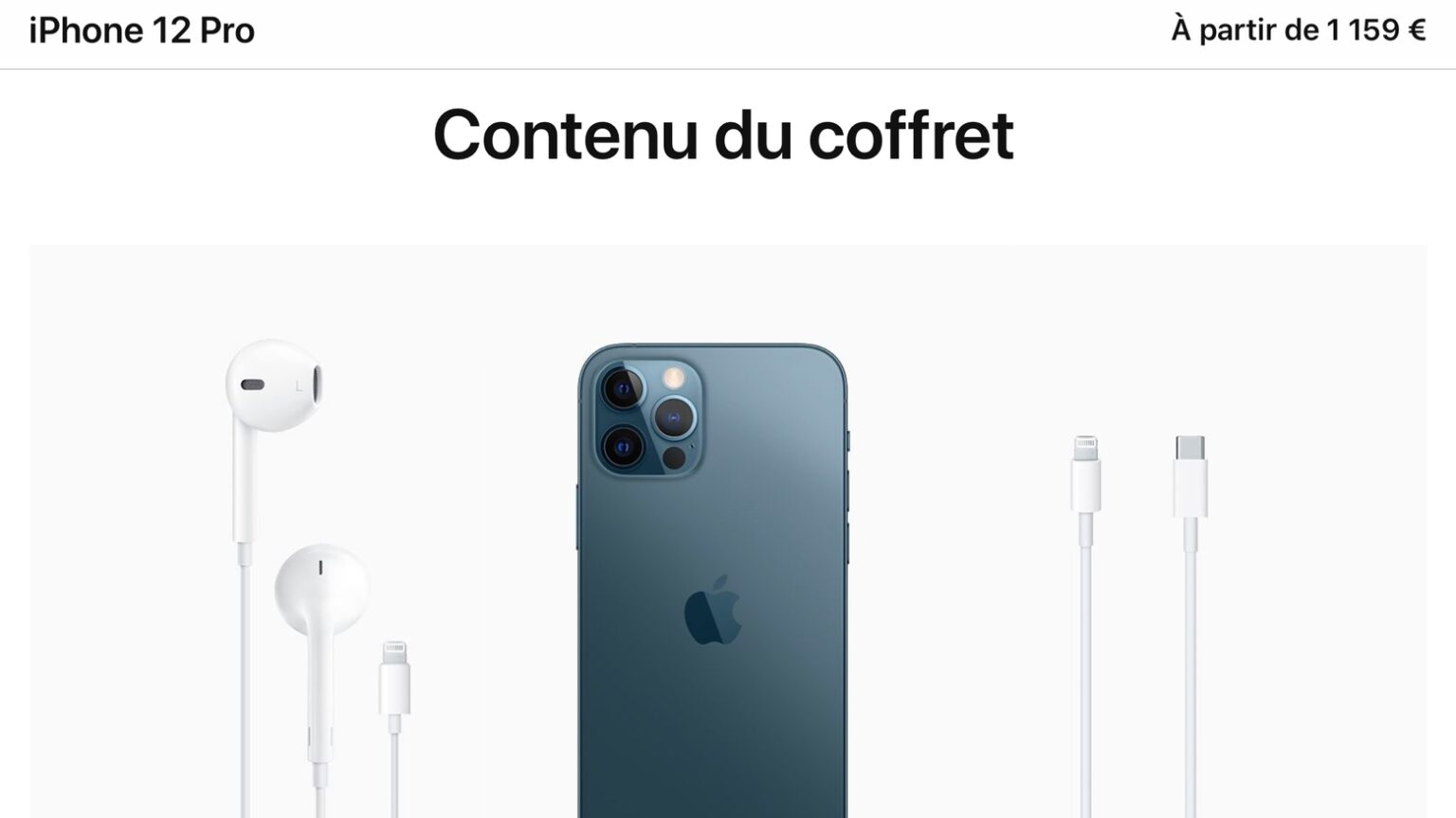 Free iPhone headphones are still a thing in France.