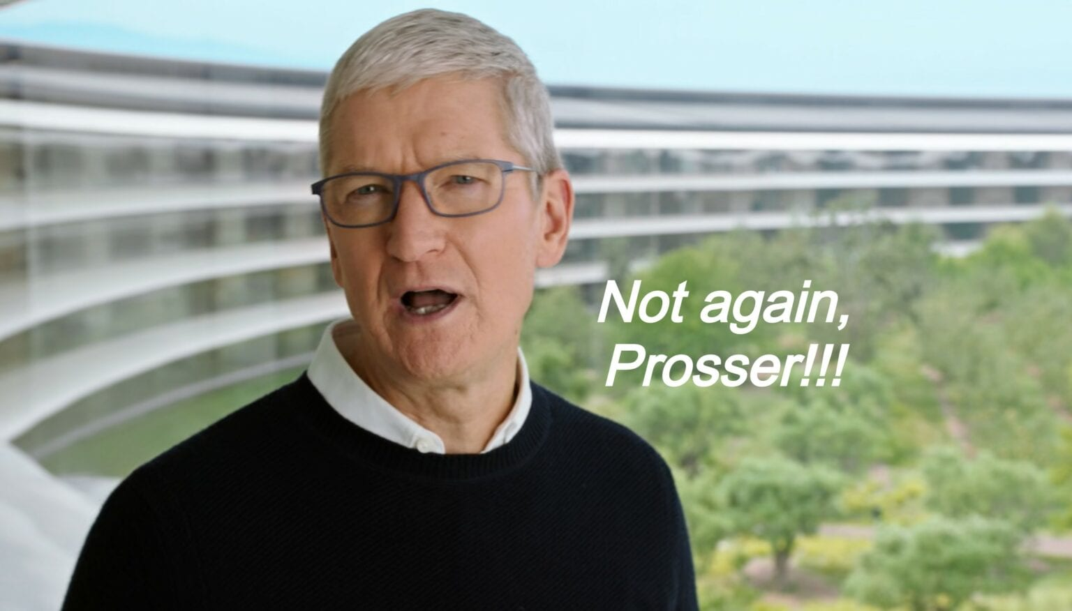 Tim Cook can't be happy about Jon Prosser's latest hits.