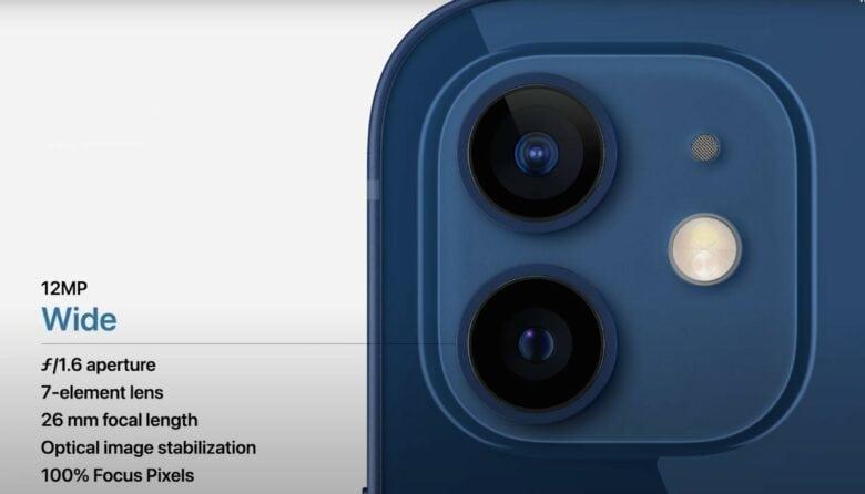 Apple's fancy new iPhone camera