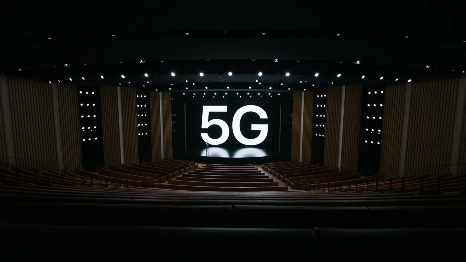 Apple isn't exactly subtle about pushing high-speed 5G networking. These 5G supercuts from the