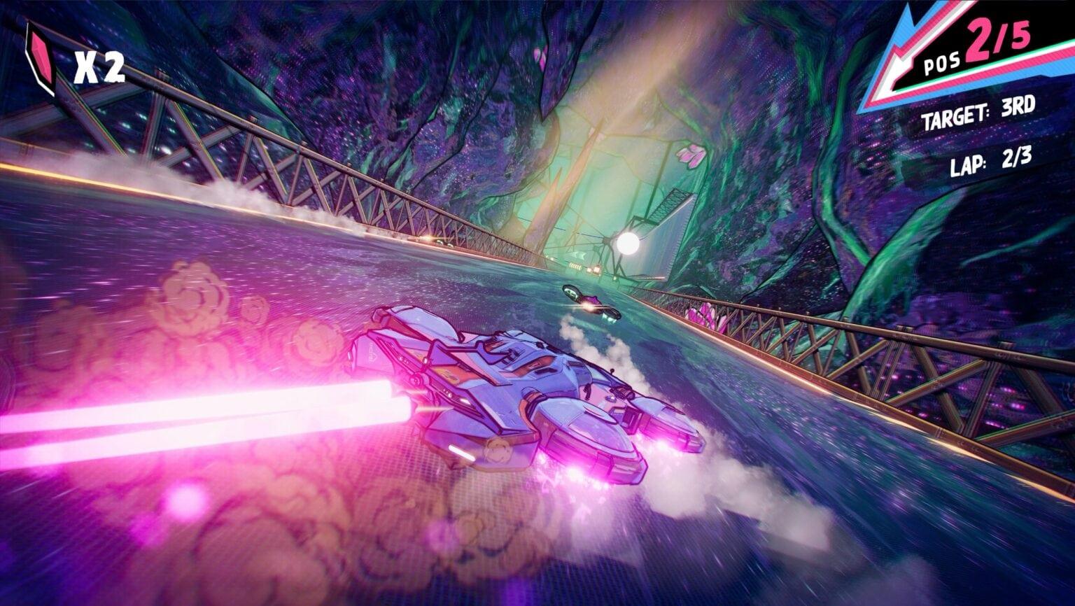 ' Warp Drive - Teleport Racing' debuted November 27 on Apple Arcade.