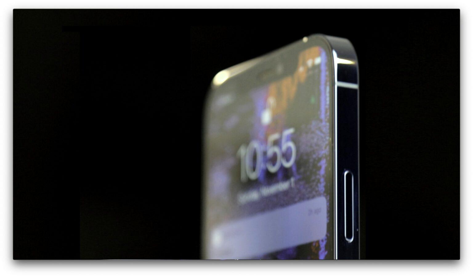 iPhone 12 Pro Shiny sides