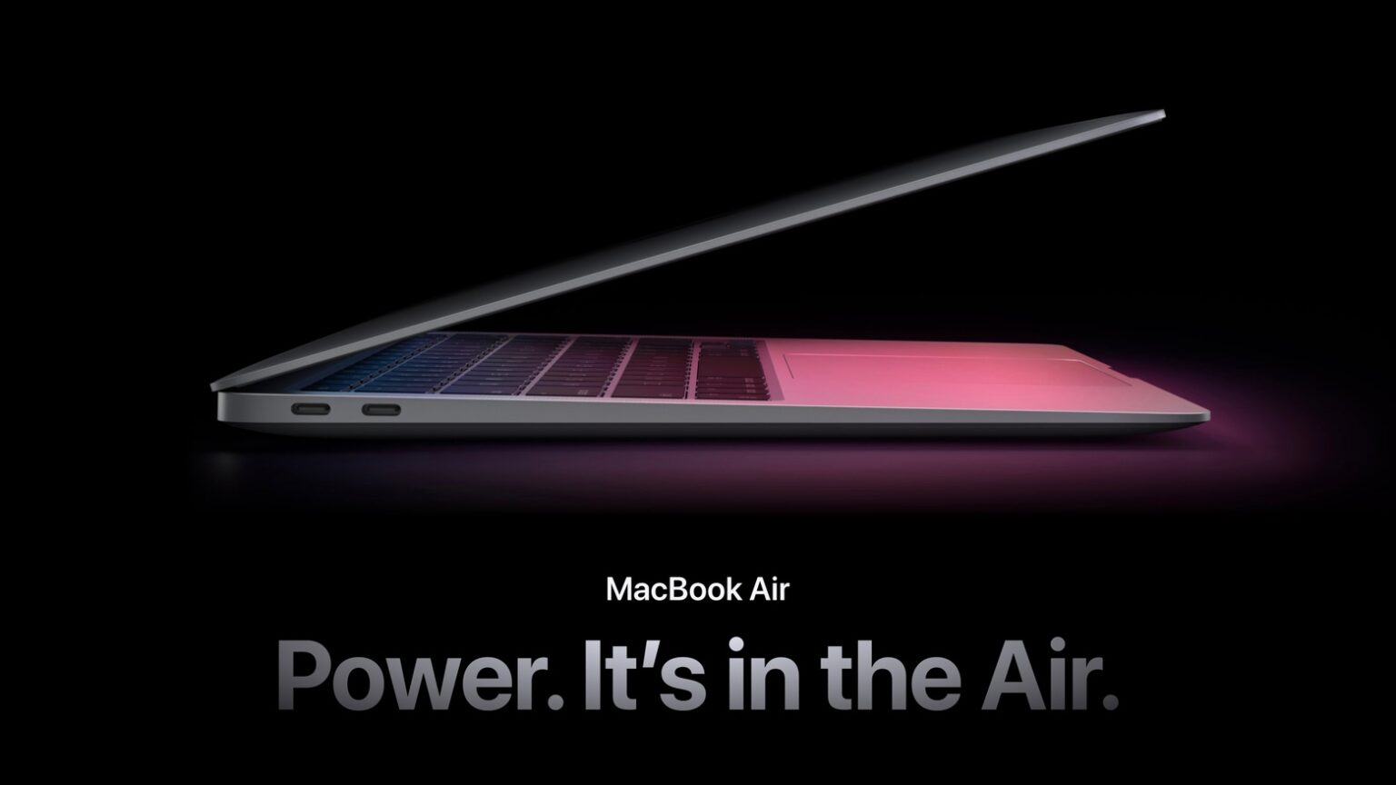 MacBook Air power