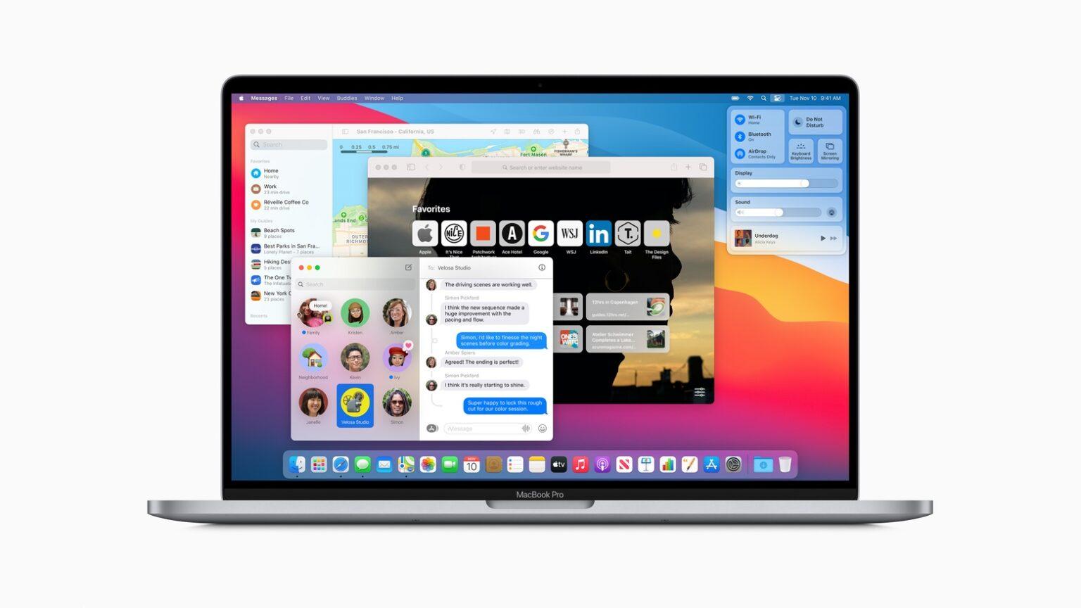 macOS Big Sur public release ushers in huge design changes