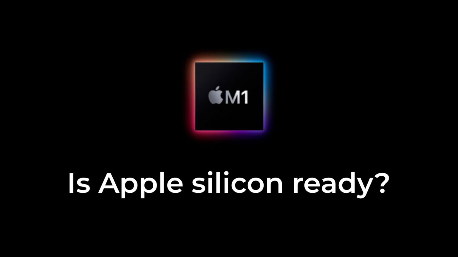 A new site lists Apple Silicon apps