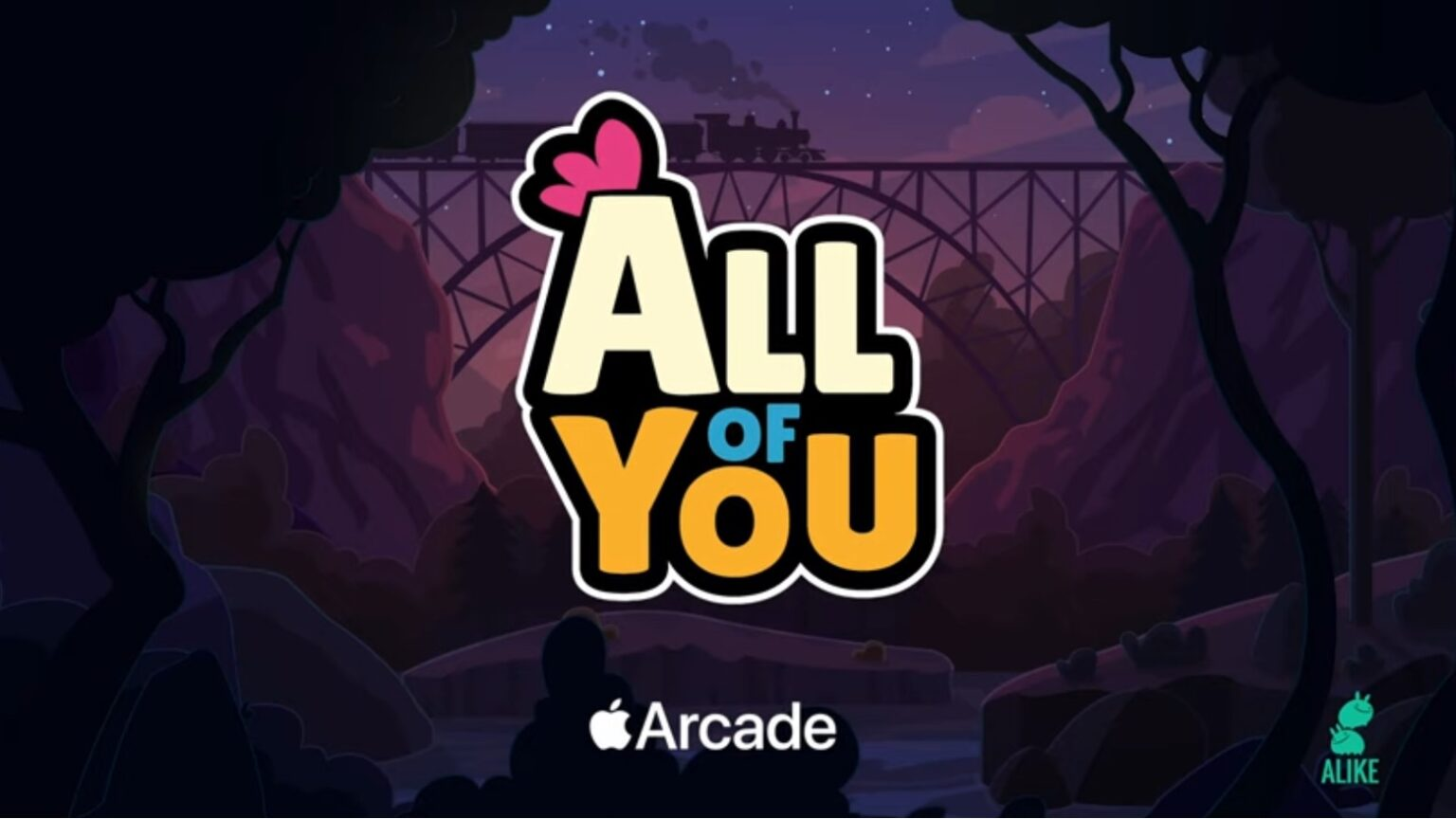 'All of You' debuted on Apple Arcade on Friday, November 6.