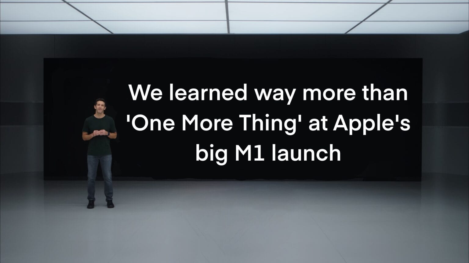 6 more things we learned at Apple's One More Thing M1 Mac event