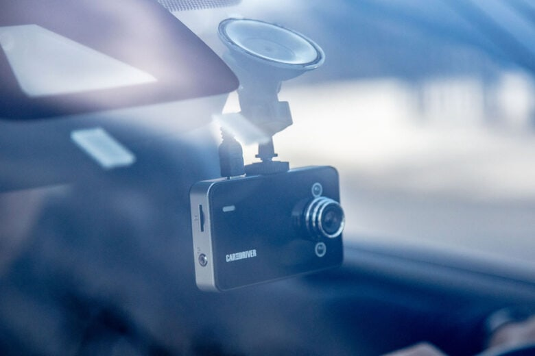 Car & Driver Dash Cam: This car camera sports tons of great features including HD playback, a wide-angle lens and loop recording