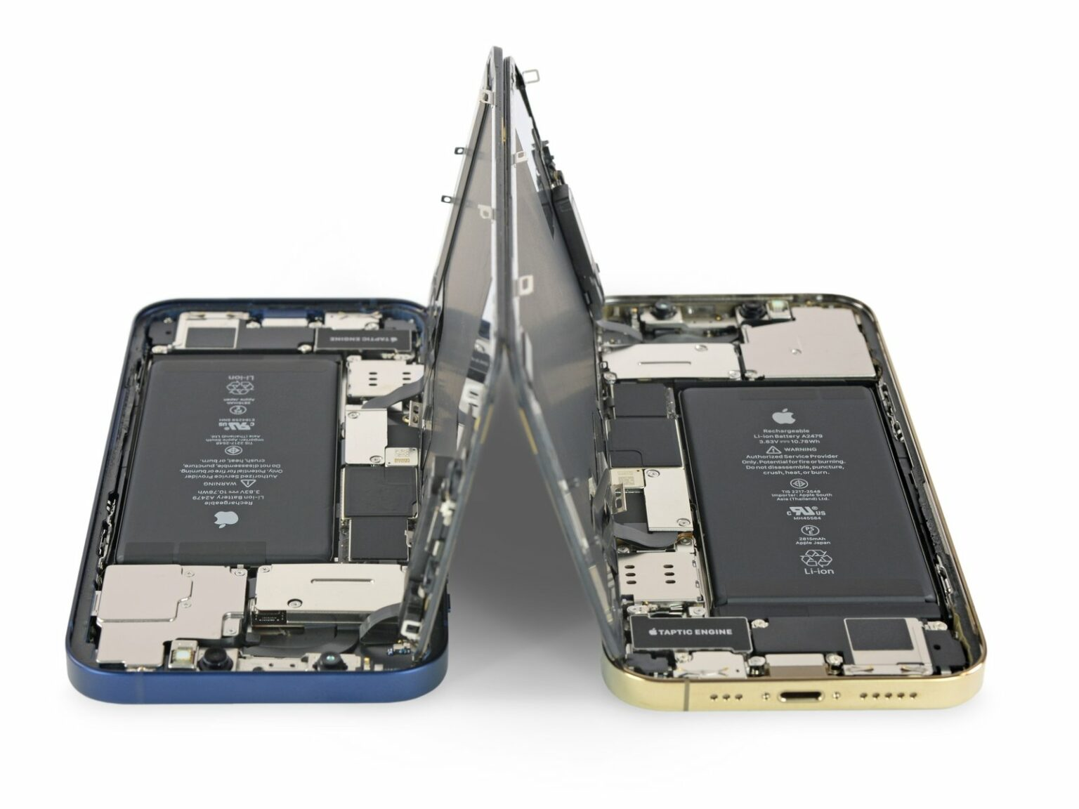iPhone 12 battery teardown
