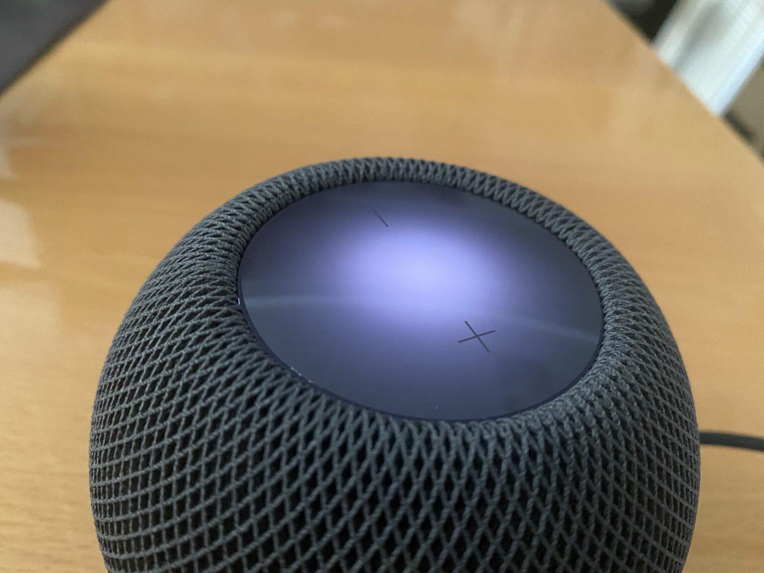 Siri on HomePod mini