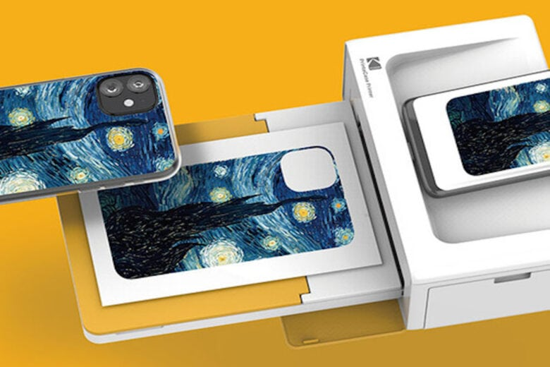 Kodak PrintaCase: This app-integrated device lets you print a DIY smartphone case in just 3 minutes