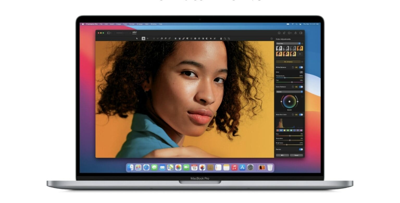 Pixelmator Pro now supports Apple Silicon