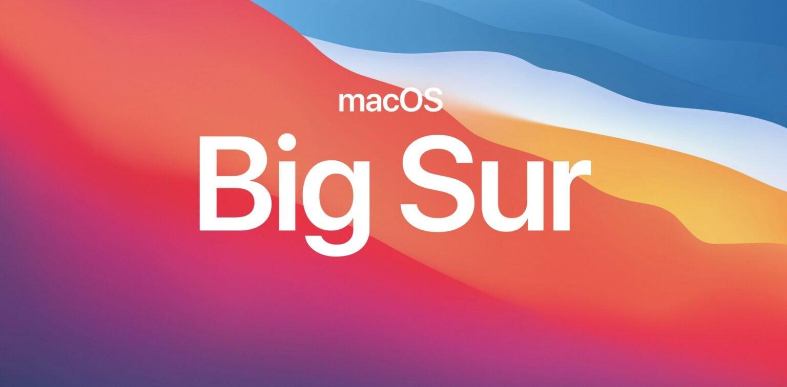 fix macOS Big Sur installation issues