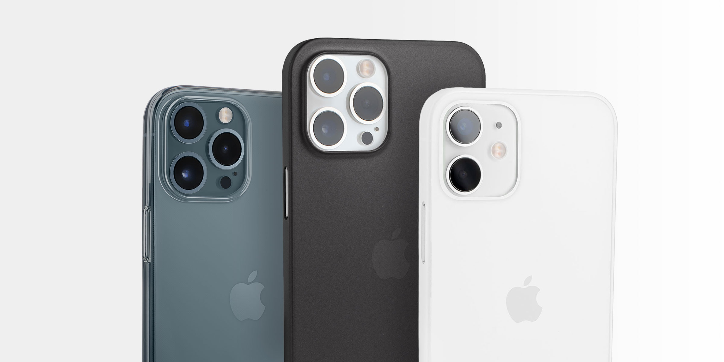 Totallee's thin iPhone 12 cases feature a raised lip that helps protect the cameras.