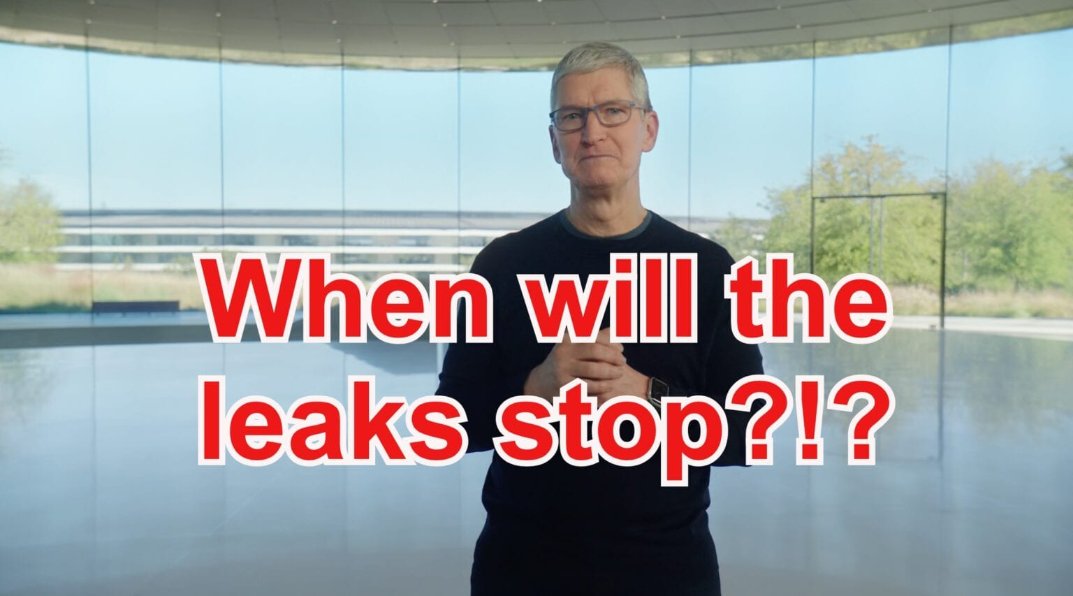 When will the Apple leaks stop?