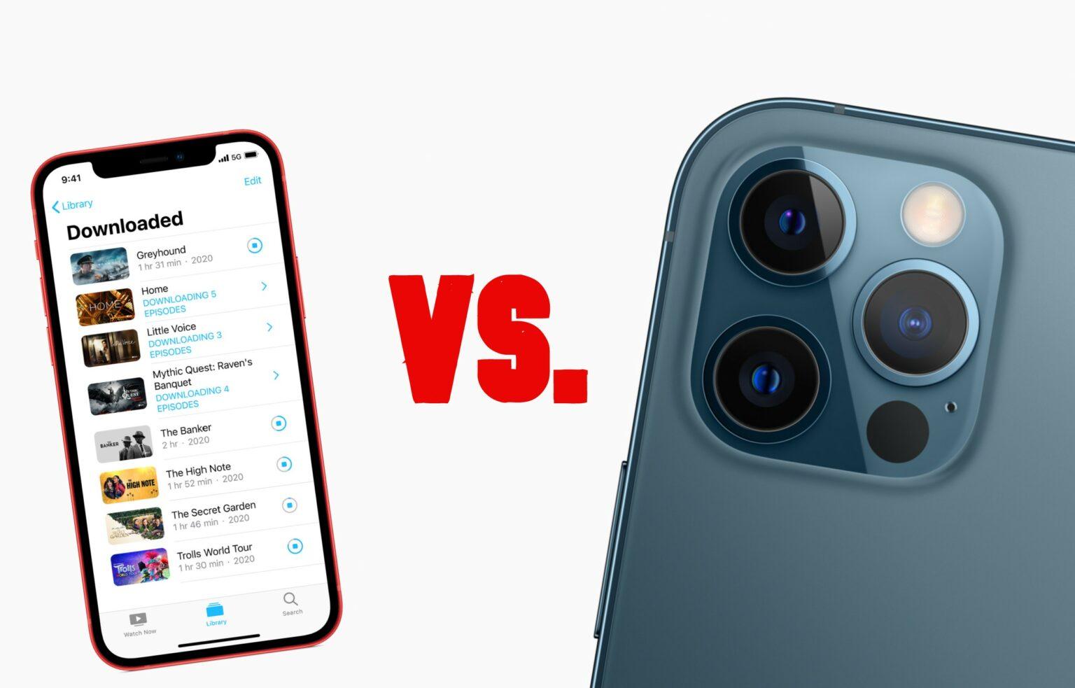 iPhone 12 mini versus iPhone 12 Pro Max: One of 2020's toughest decisions.