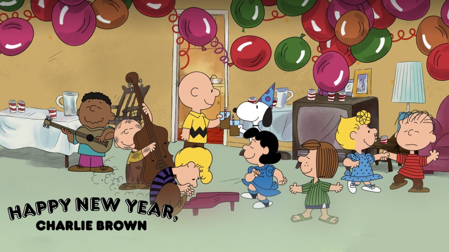 The Peanuts New Year's Eve special is now on Apple TV+.
