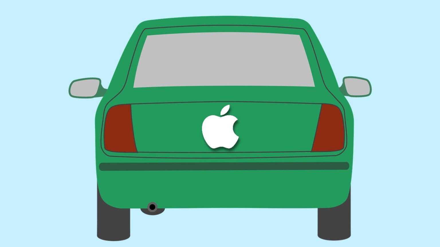 An Apple Car is supposedly in development, though it probably won't look anything like this.