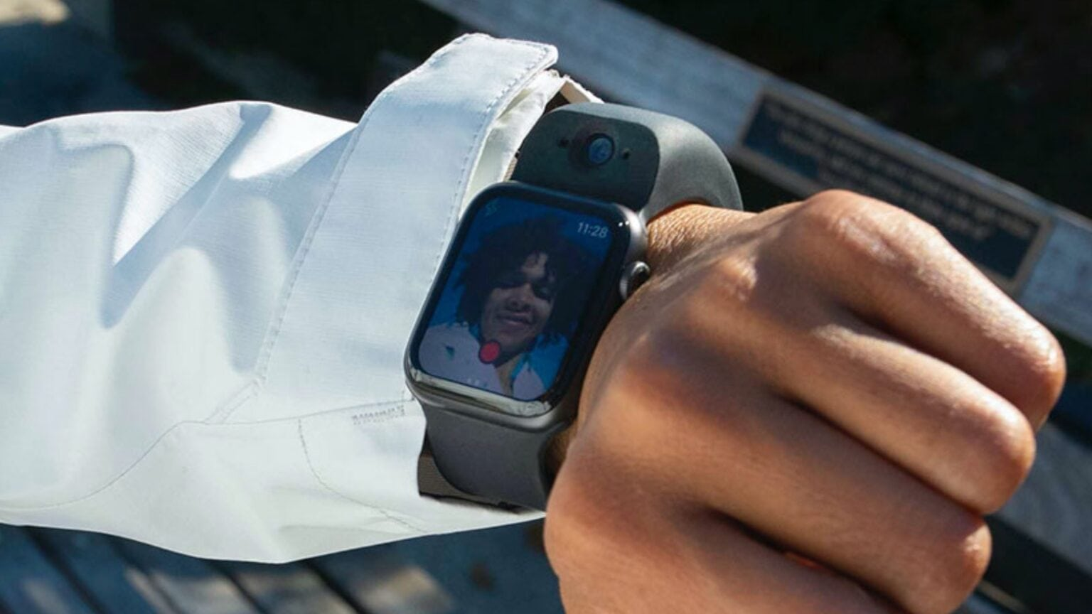 Many people would like an Apple Watch camera, but not one as large as the Wristcam.