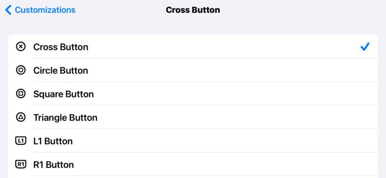 iOS 14 gives you plenty of options to reconfigure a game controller.