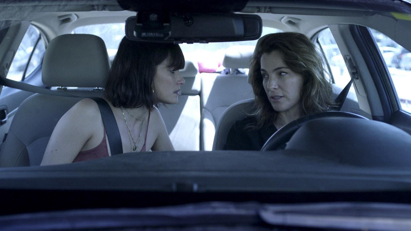 Lihi Kornowski (left) plays an upstart screenwriter who tangles with a veteran filmmaker (Ayelet Zurer) in Losing Alice.