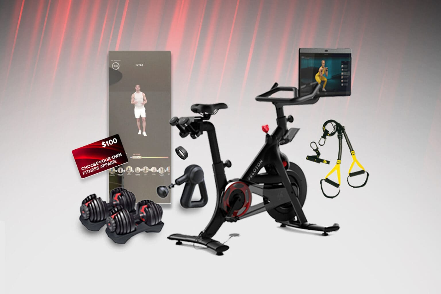 Bring the gym to your house by entering to win this Peloton giveaway